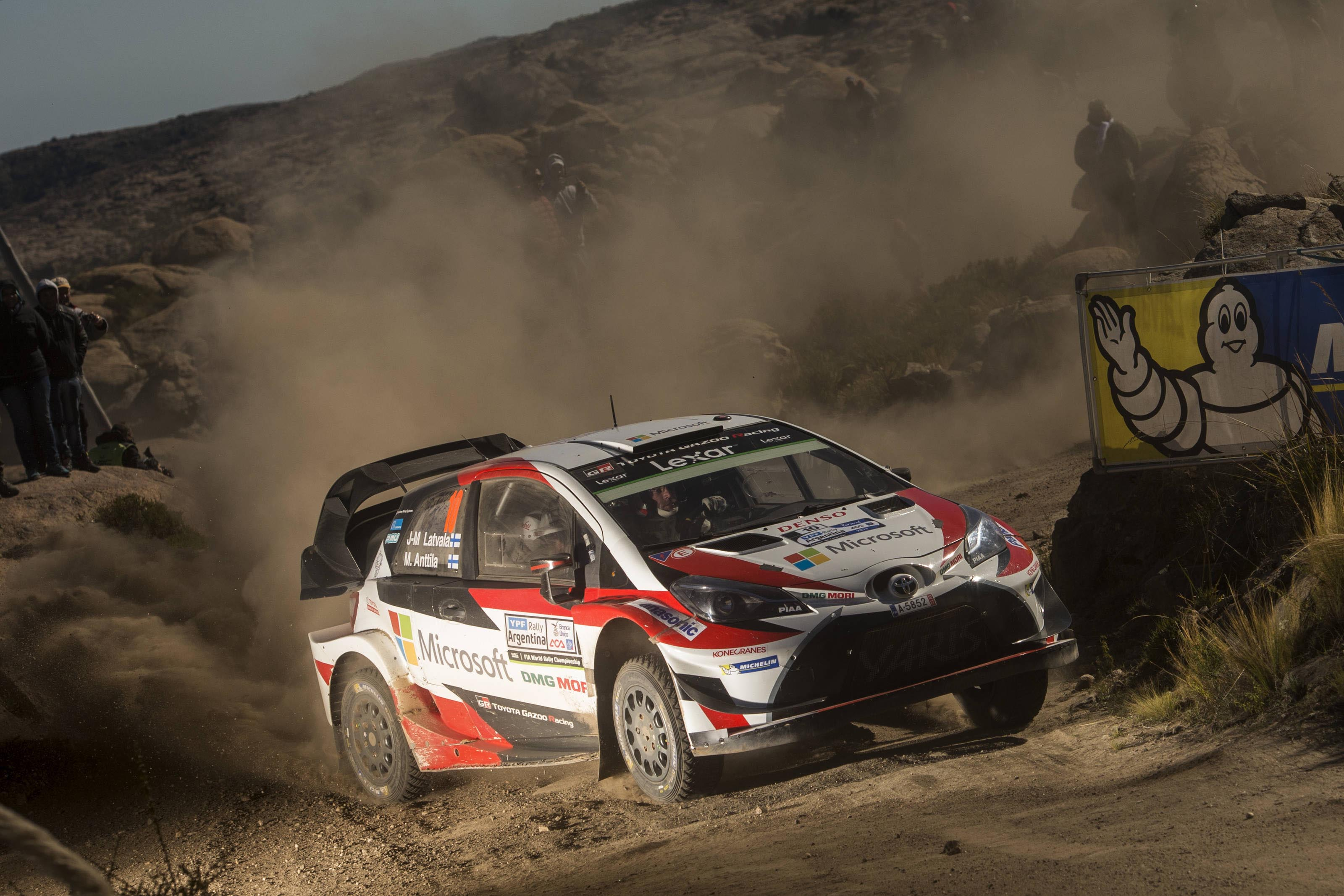 Latvala Toyota WRC